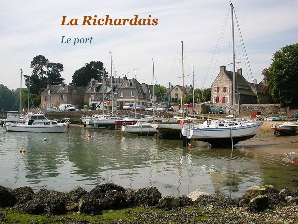 La Richardais Le port