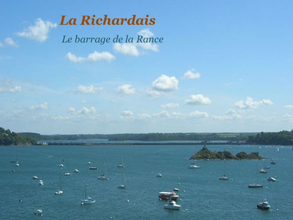 La Richardais Le barrage de la Rance