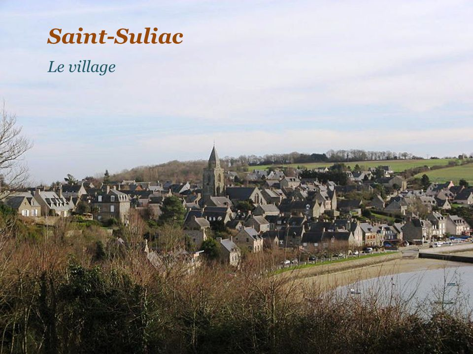 Saint-Suliac Le village