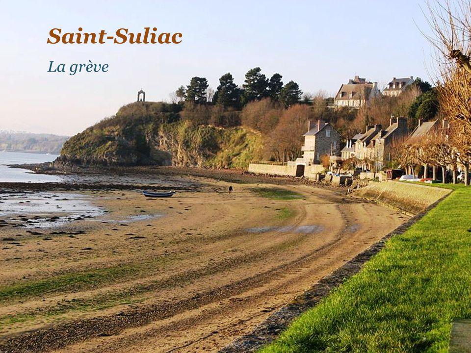 Saint-Suliac La grève