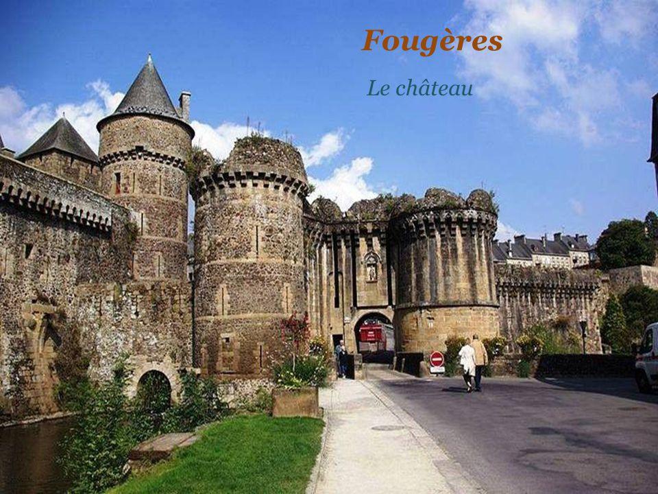 Fougères Le château
