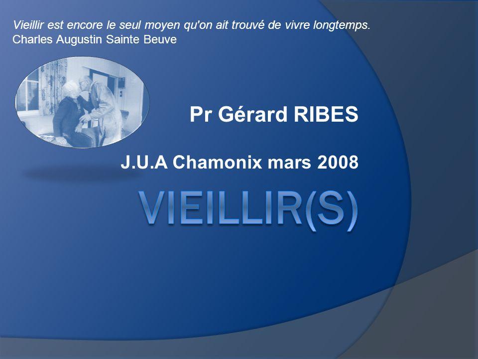 Pr Gérard RIBES J.U.A Chamonix mars 2008