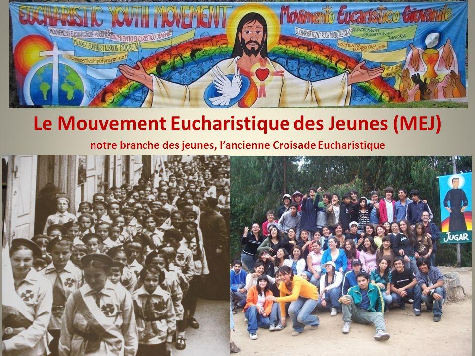 Le Mouvement Eucharistique des Jeunes (MEJ)