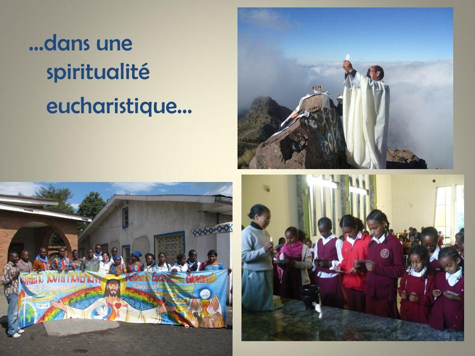 …dans une spiritualité
