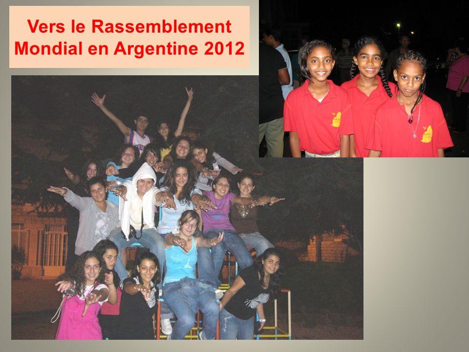 Vers le Rassemblement Mondial en Argentine 2012