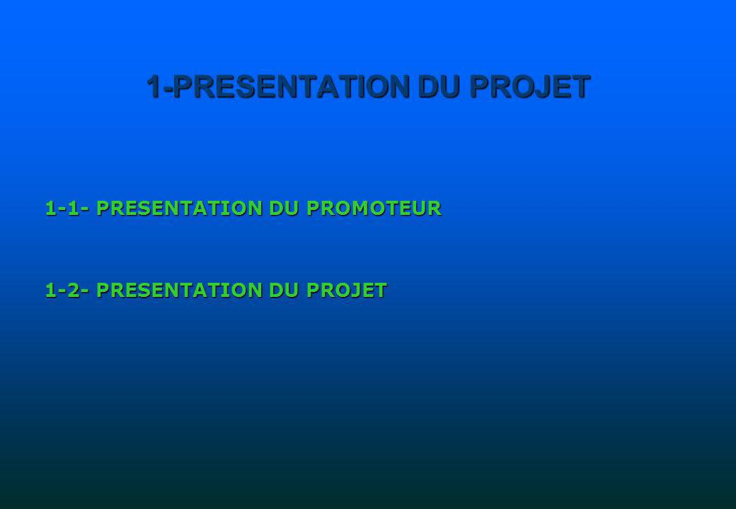 1-PRESENTATION DU PROJET