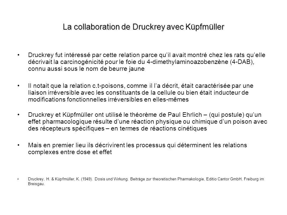 La collaboration de Druckrey avec Küpfmüller