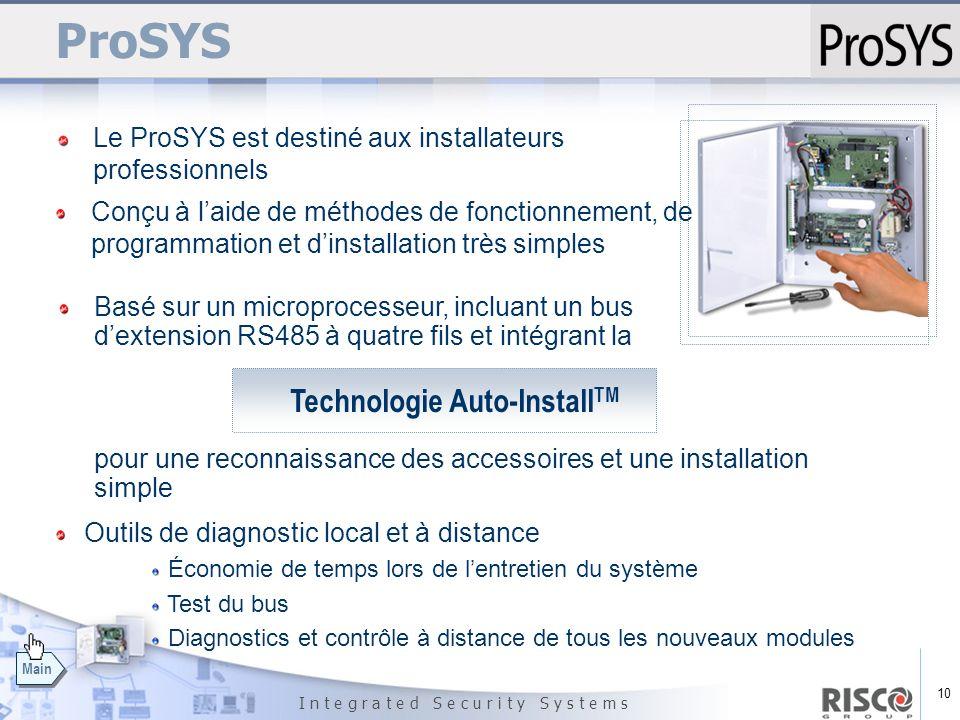 ProSYS Technologie Auto-InstallTM