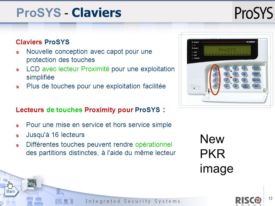 ProSYS - Claviers New PKR image Claviers ProSYS