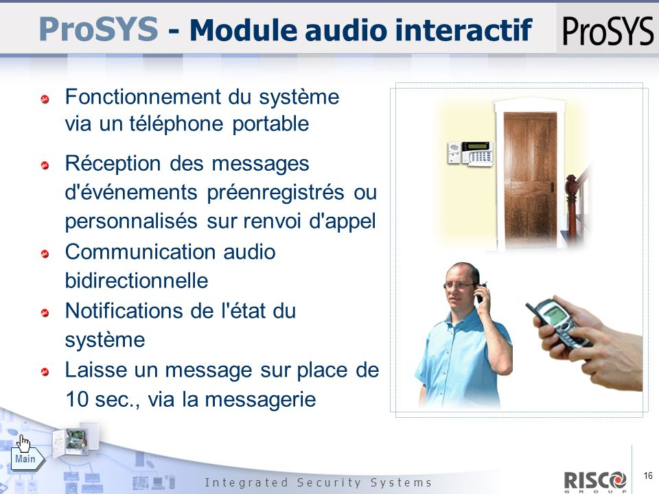 ProSYS - Module audio interactif