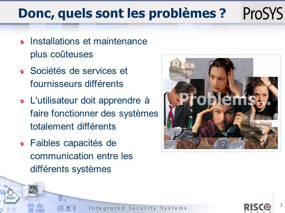 Donc, quels sont les problèmes
