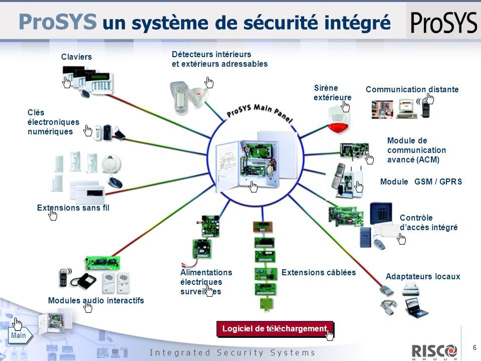 ProSYS un système de sécurité intégré