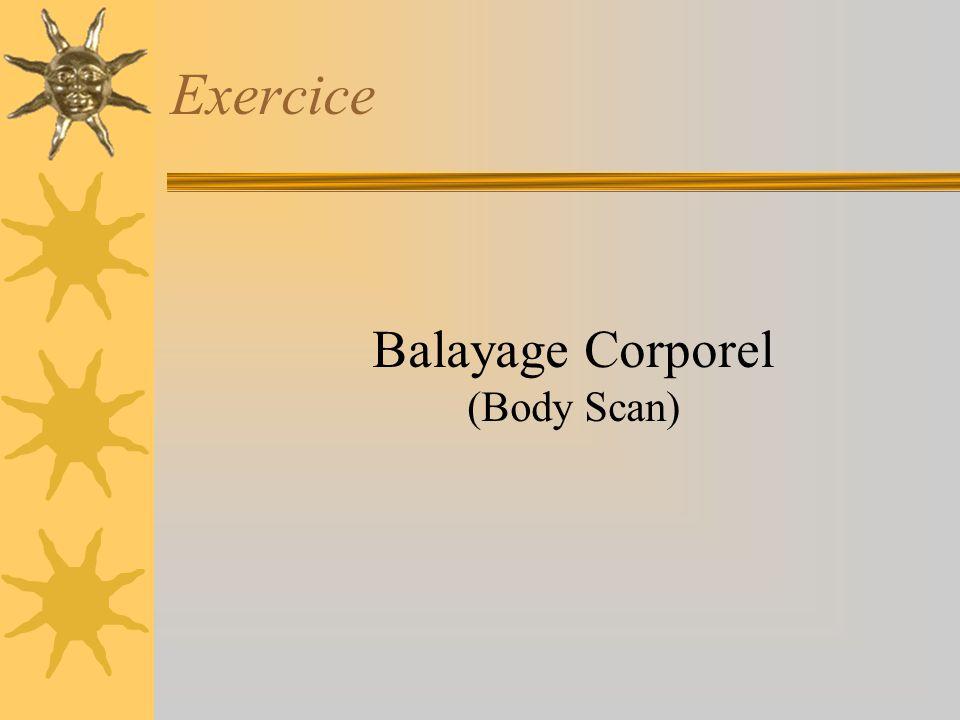 Balayage Corporel (Body Scan)