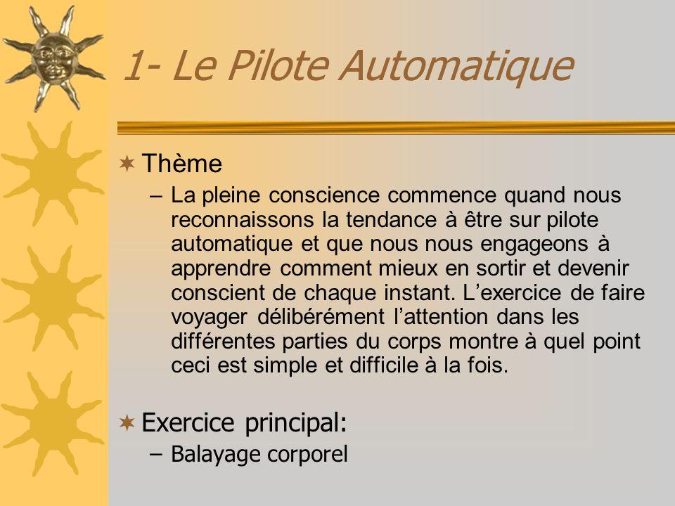 1- Le Pilote Automatique