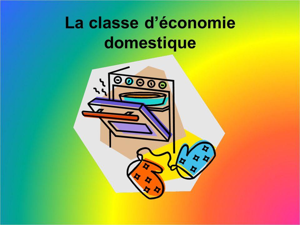 La classe d'économie domestique