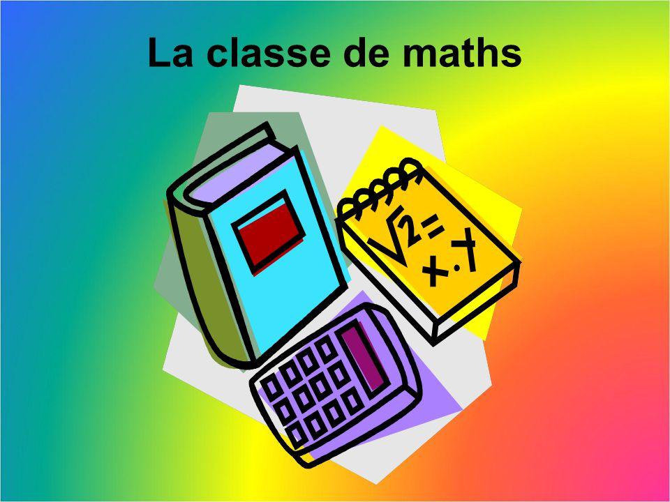 La classe de maths