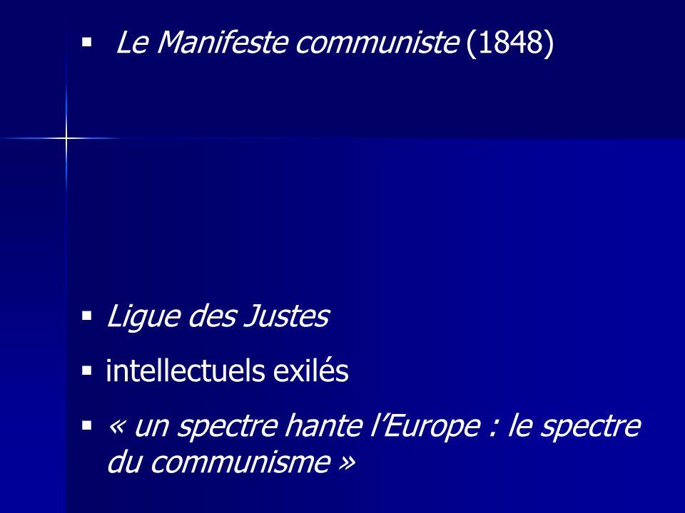 Le Manifeste communiste (1848)