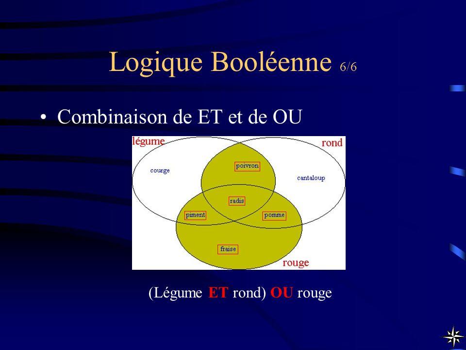 Logique Booléenne 6/6 Combinaison de ET et de OU