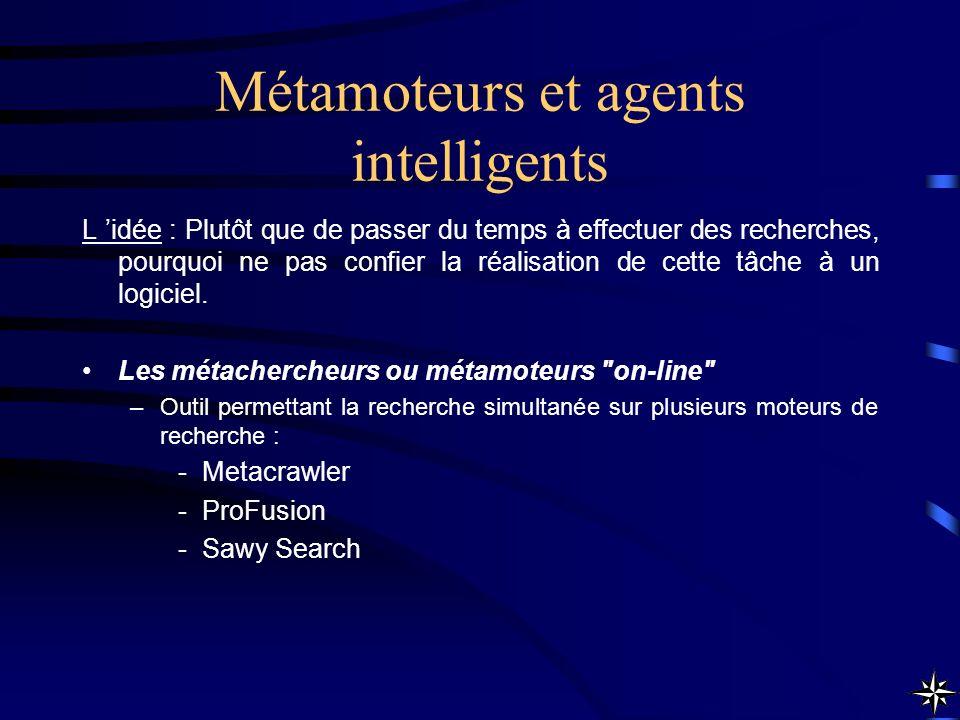 Métamoteurs et agents intelligents