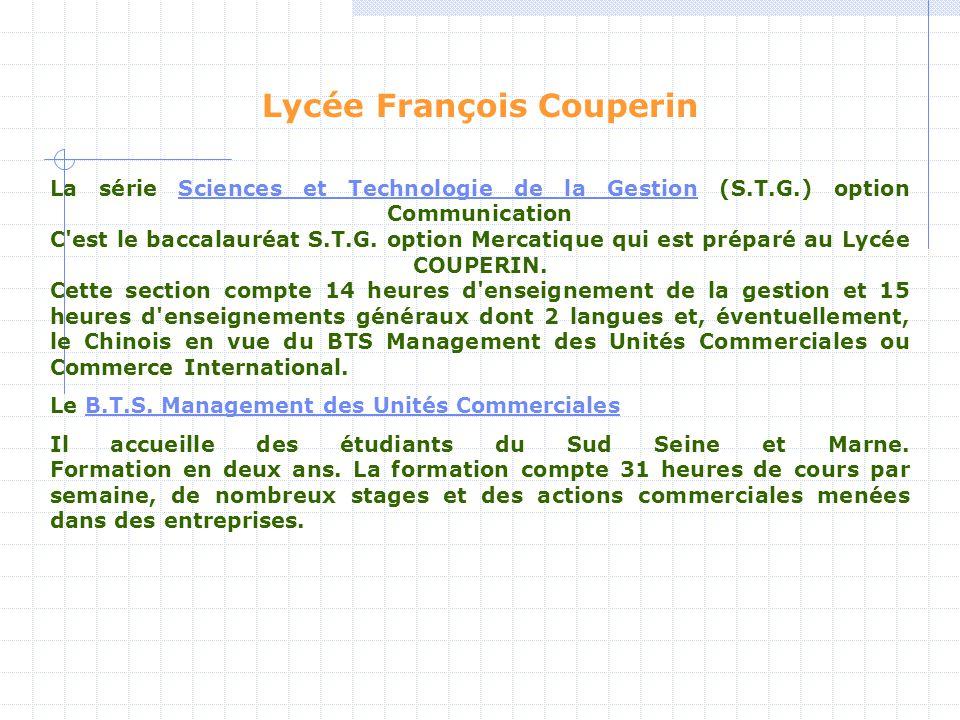 Lycée François Couperin