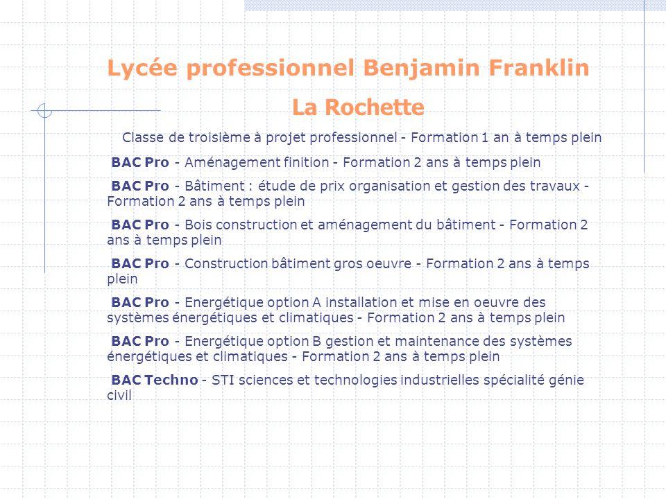 Lycée professionnel Benjamin Franklin
