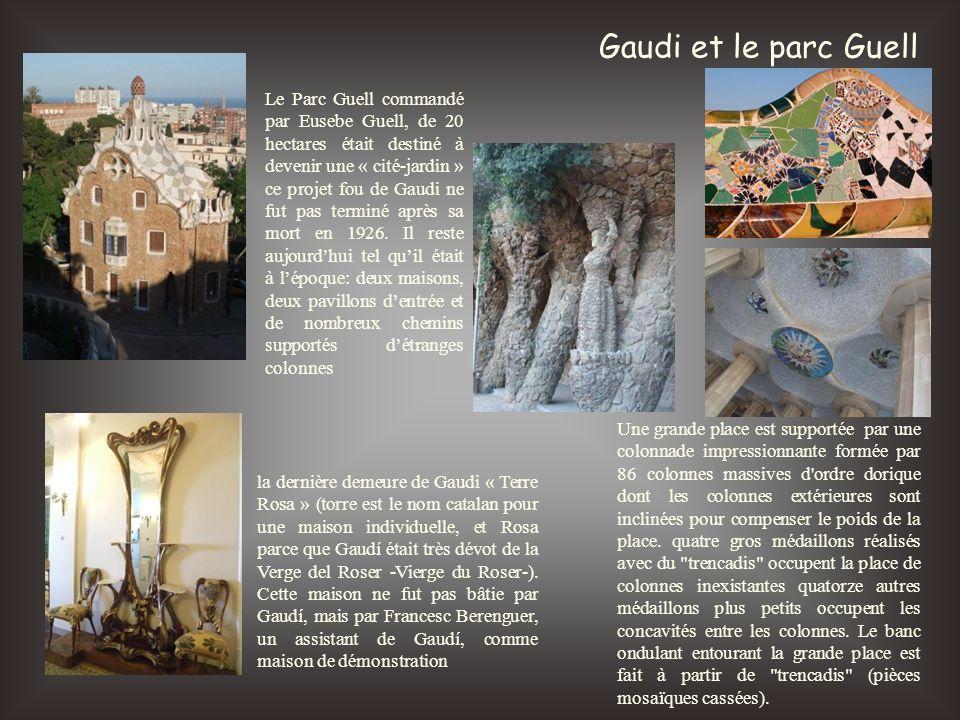 Gaudi et le parc Guell