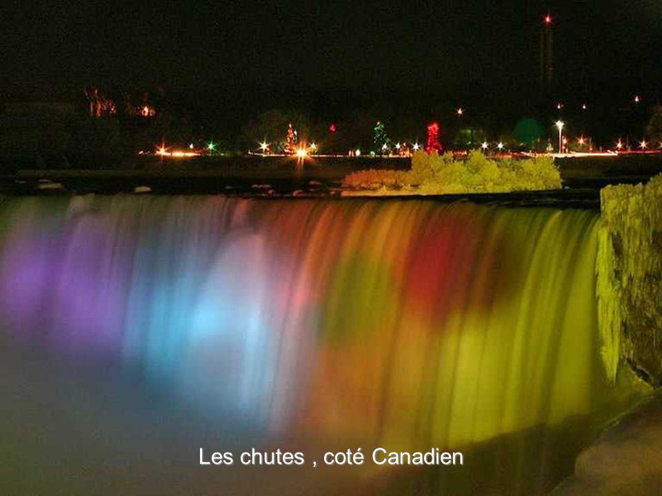 Les chutes , coté Canadien