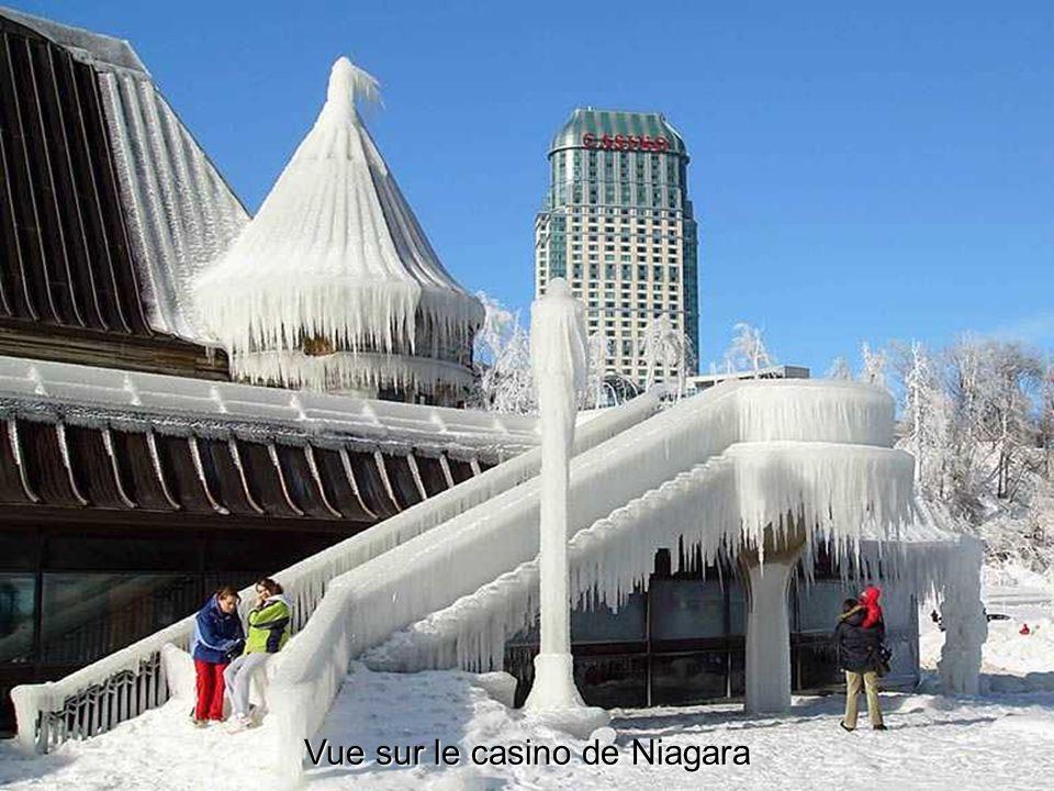 Vue sur le casino de Niagara