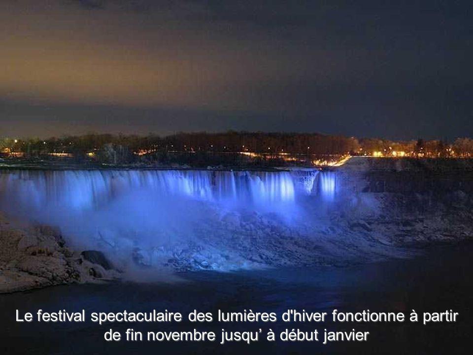 Le festival spectaculaire des lumières d hiver fonctionne à partir de fin novembre jusqu' à début janvier