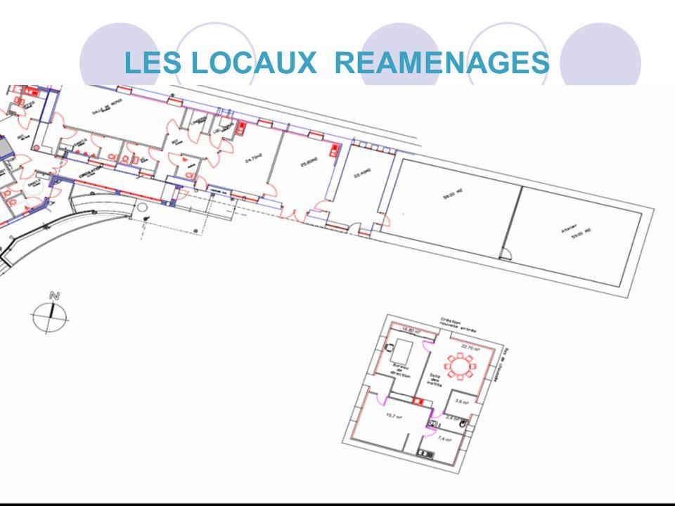 LES LOCAUX REAMENAGES