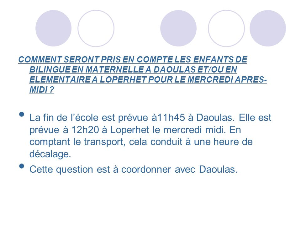 Cette question est à coordonner avec Daoulas.