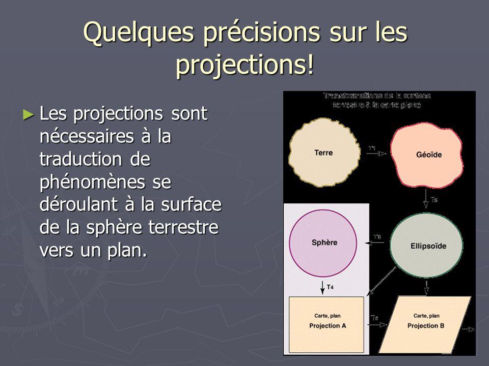 Quelques précisions sur les projections!