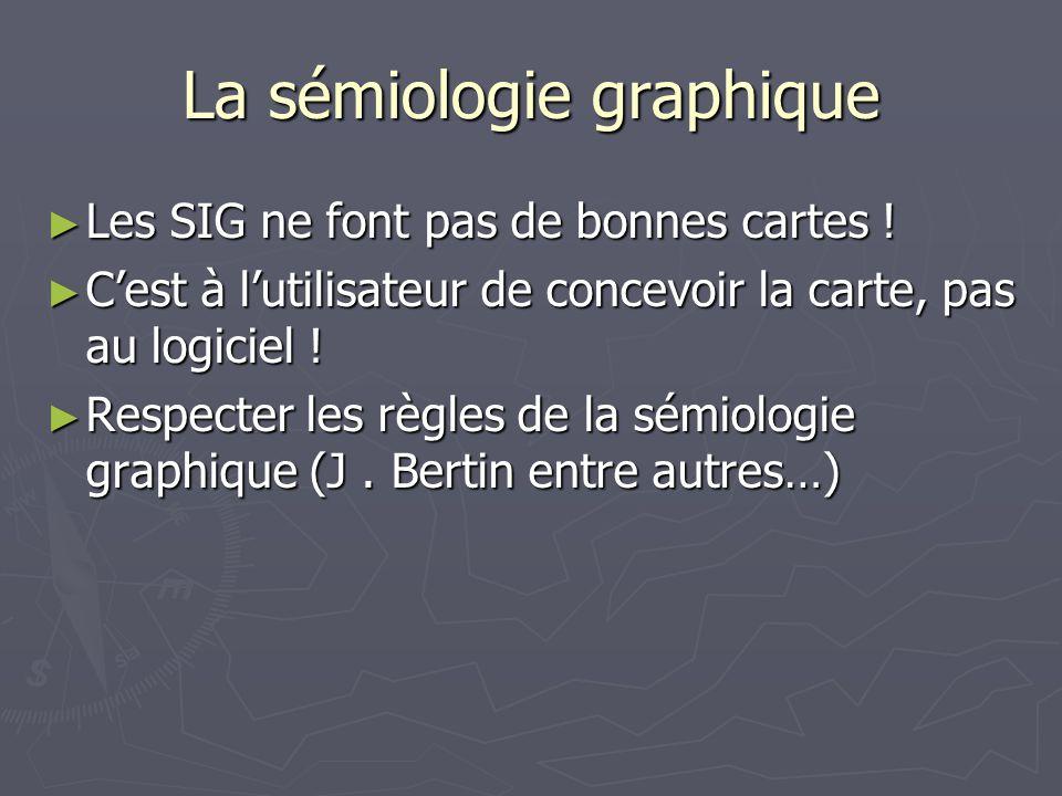 La sémiologie graphique