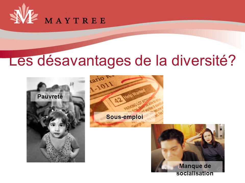 Les désavantages de la diversité