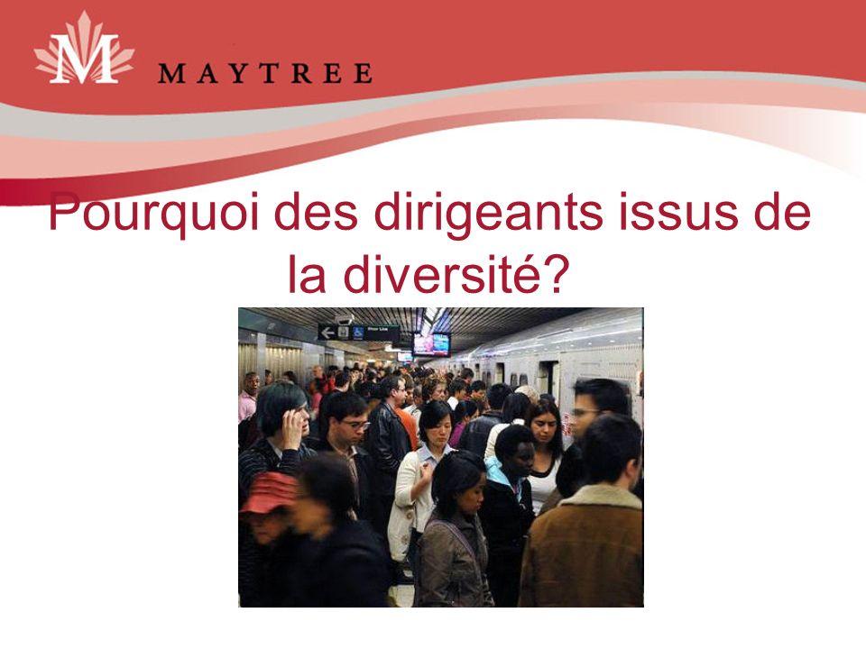 Pourquoi des dirigeants issus de la diversité