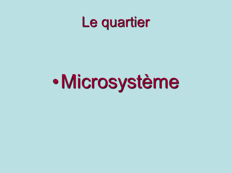 Le quartier Microsystème