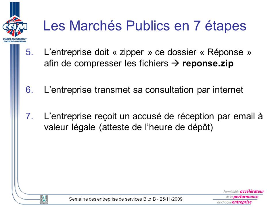 Les Marchés Publics en 7 étapes