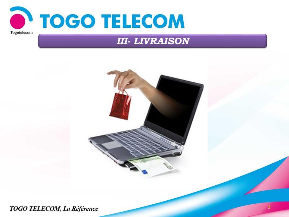 III- LIVRAISON 2