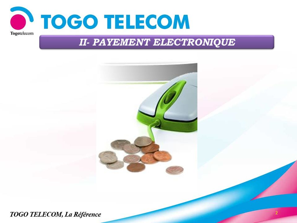 II- PAYEMENT ELECTRONIQUE