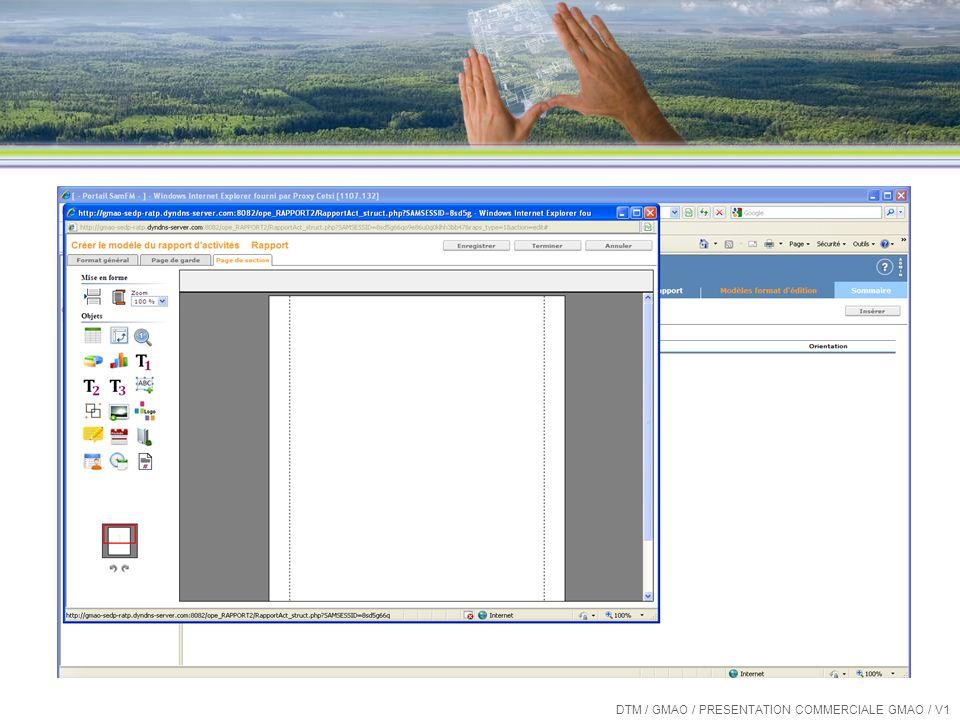 Les « plus » de SamFM Construction de rapports simplifiée