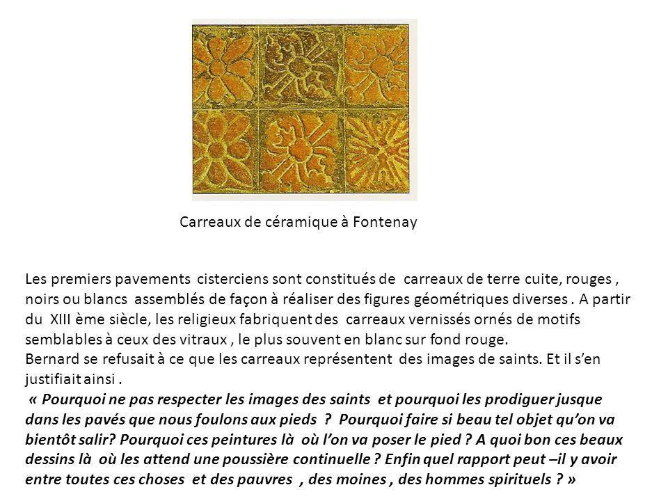 Carreaux de céramique à Fontenay