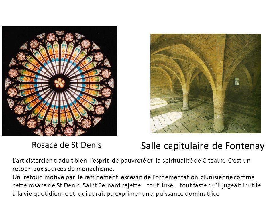 Salle capitulaire de Fontenay