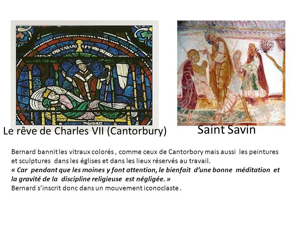Saint Savin Le rêve de Charles VII (Cantorbury)