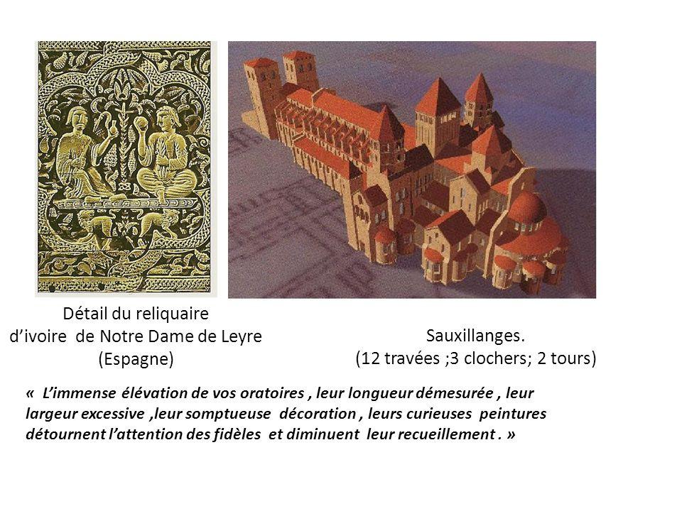 d'ivoire de Notre Dame de Leyre (Espagne) Sauxillanges.