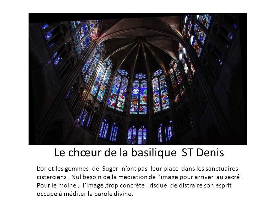 Le chœur de la basilique ST Denis