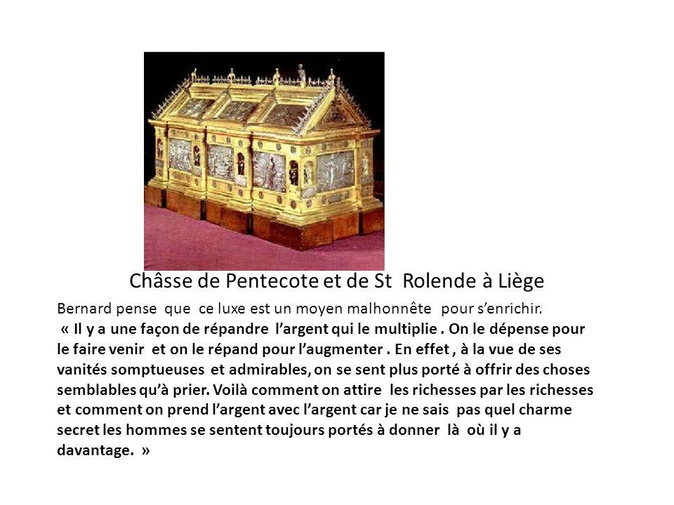 Châsse de Pentecote et de St Rolende à Liège