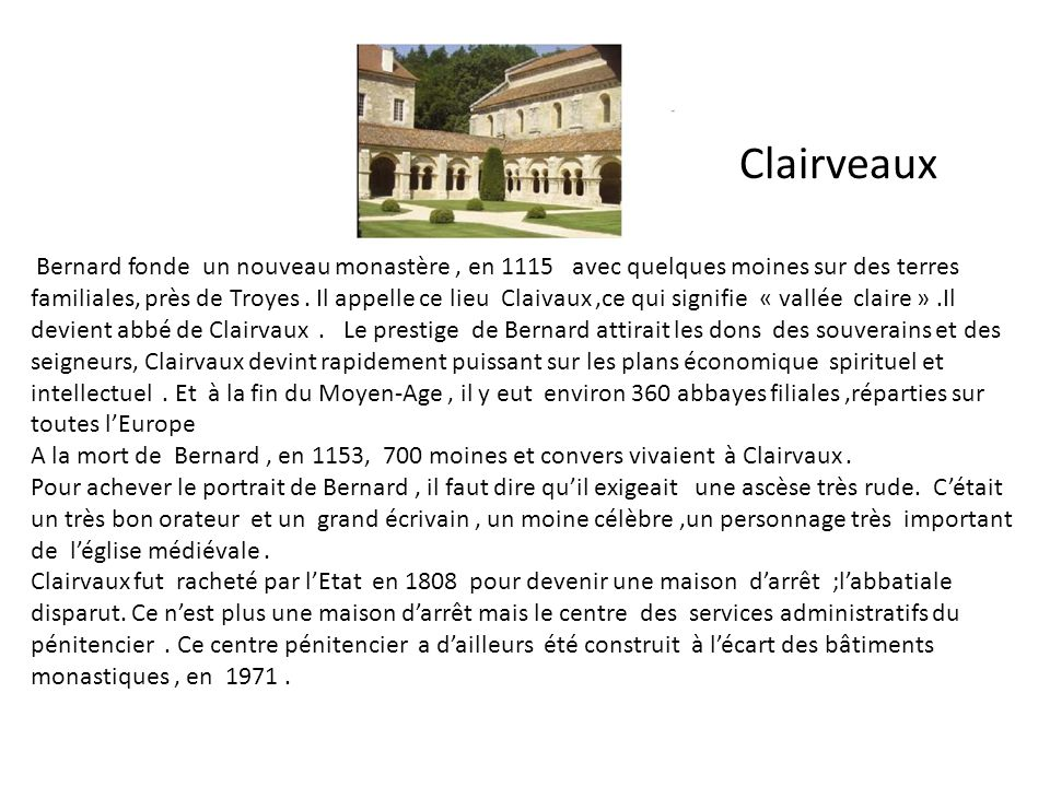 Clairveaux