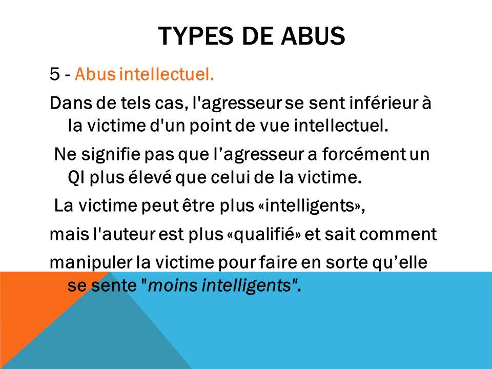 Types de abus