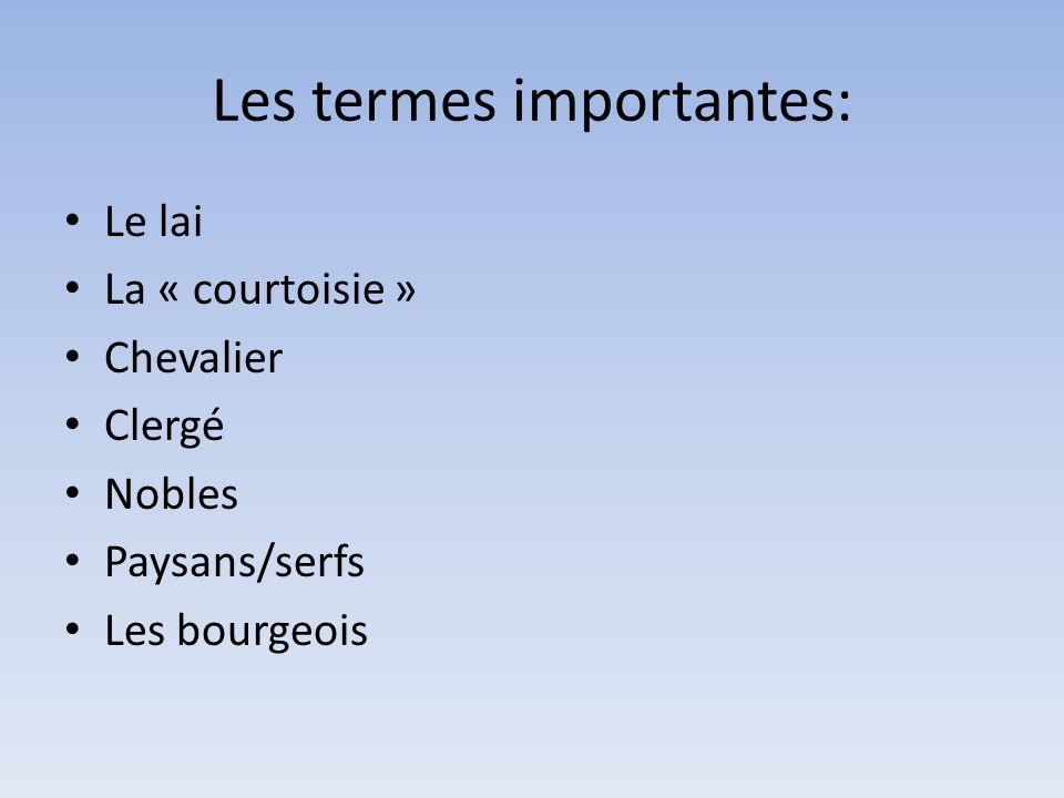 Les nobles, le clergé, les paysans 5ème Français