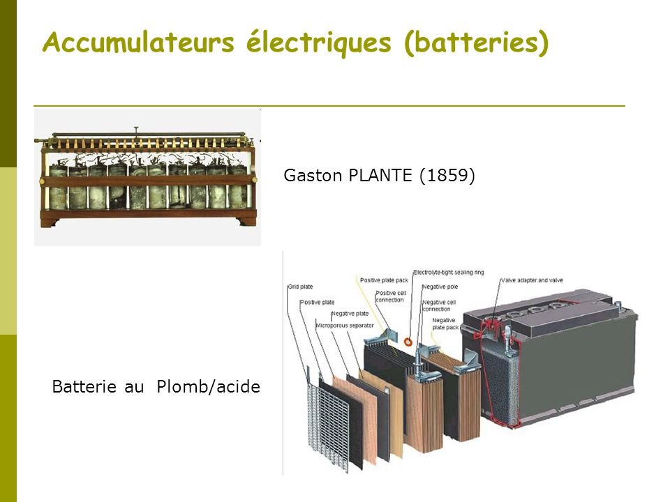 accumulateurs lectriques batteries ppt video online t l charger. Black Bedroom Furniture Sets. Home Design Ideas